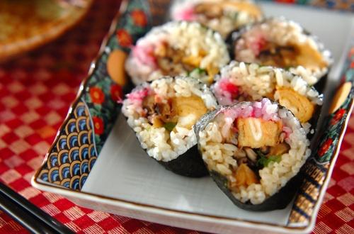 巻き寿司(恵方巻き)
