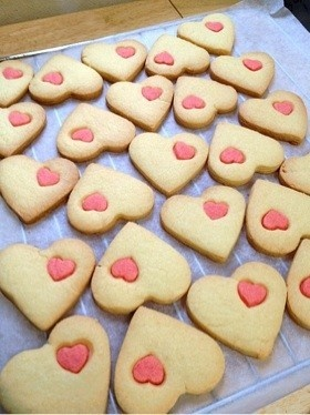 ホワイトデーに!ハートのクッキー☆