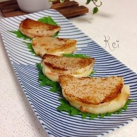 ちょこっとおつまみ☆長芋ハムチーズサンド