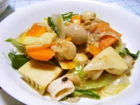 春の恵みいっぱい★筍と春キャベツの八宝菜