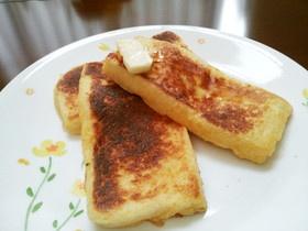 簡単贅沢!ホテルの朝食?フレンチトースト