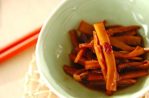 水煮メンマの中華炒め