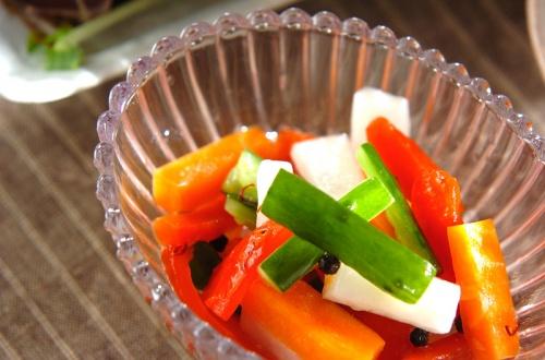 野菜の甘酢漬け