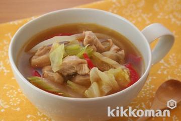 鶏肉とセロリのスープ