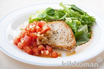 かじきまぐろのソテー トマトソース