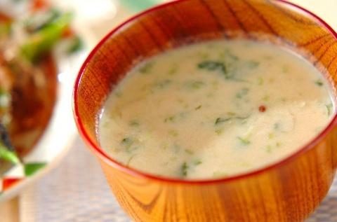 豆腐のすり流し汁