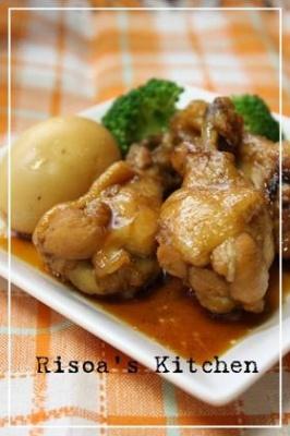 鶏手羽元のさっぱりお酢煮☆