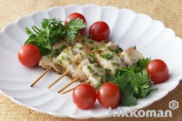 白身魚のタイ風串焼き