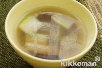 とうがんの中華スープ