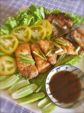簡単アジア式白身魚のムニエル@カンボジア