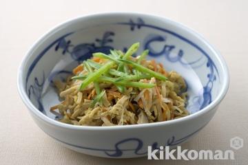 炒り高野豆腐