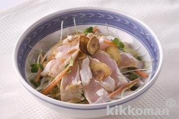 鶏肉の中華風サラダ