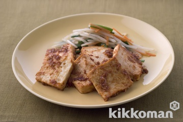 豆腐の韓国風つけ焼き