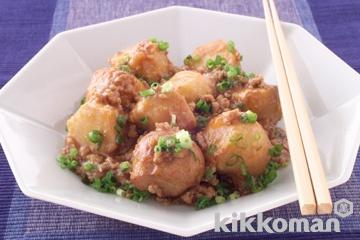 里芋の中華風揚げ煮