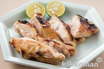 鶏もも肉の西京焼き