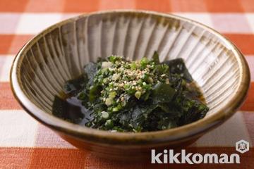 わかめの韓国風酢の物