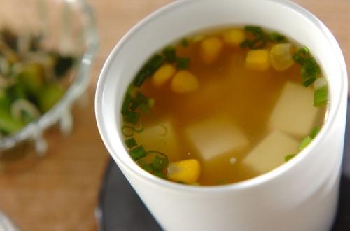 つぶつぶコーンスープ