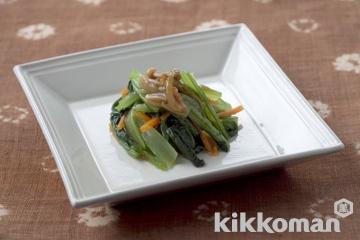 小松菜のなめ茸和え