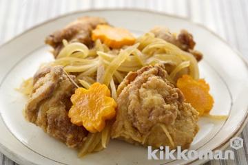 鶏と玉ねぎの南蛮漬け