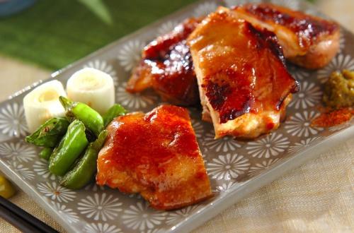 柔らか鶏の照り焼き