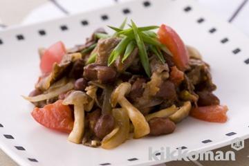 牛肉と金時豆の煮込み