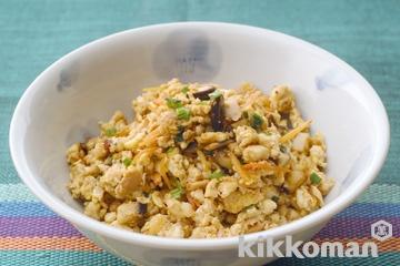 ツナ入り炒り豆腐