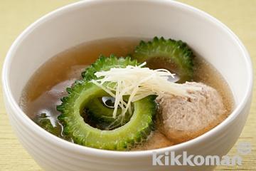 ゴーヤと肉団子のスープ煮