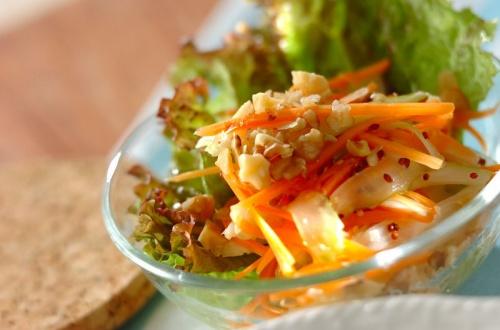 シャキシャキセロリのサラダ