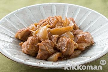 鶏肉と玉ねぎの煮物
