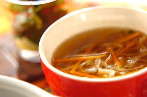 切干し大根と野菜のスープ