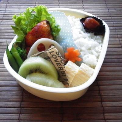 お弁当に〜鰆のハニートマト塩麹ソース〜