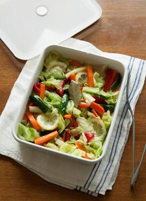 カラフル野菜のオイルビネガー漬け