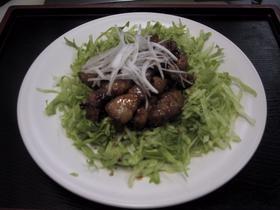 ピリカラ黒酢の酢豚