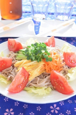 そばサラダ 長野県の名物料理