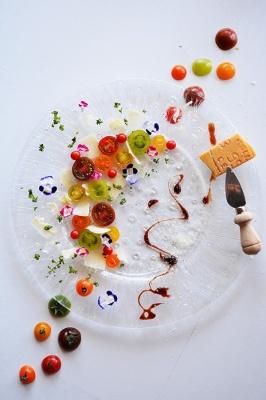 トマトとパルミジャーノ。 超簡単シンプルな夏のおもてなし前菜