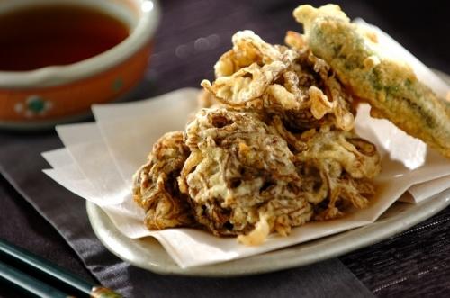 沖縄風もずくの天ぷら