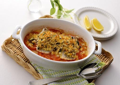お魚の米粉パン粉焼き(食物アレルギー対応)