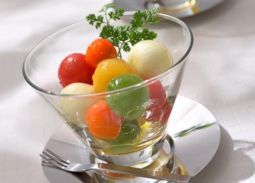 トマトのハニーレモンマリネ