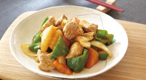 低カロリー簡単酢豚