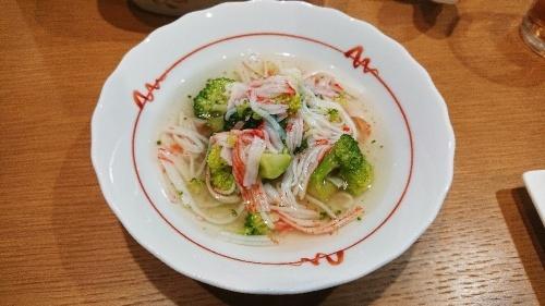 簡単おかず!ブロッコリーの蟹カマ餡掛け レシピ・作り方