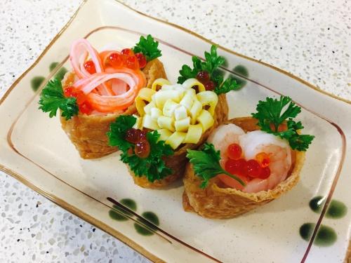 バレンタインいなり寿司 レシピ・作り方