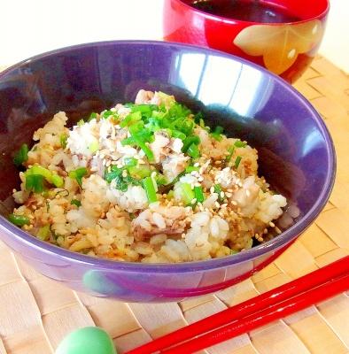 さば缶で簡単!鯖と大葉の混ぜご飯 レシピ・作り方