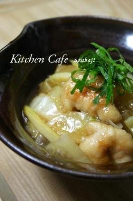 白菜と鶏肉のトロっと煮 レシピ・作り方