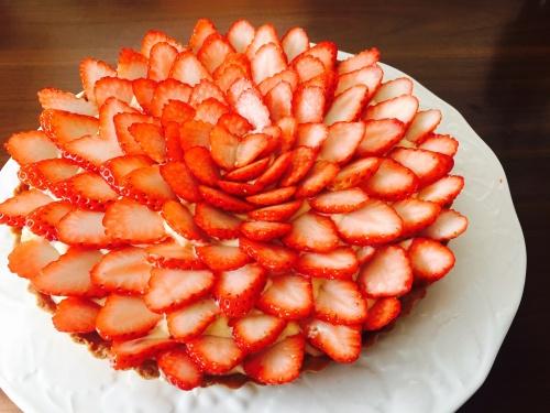 苺1パックでできちゃう♫イチゴのタルト☆ レシピ・作り方