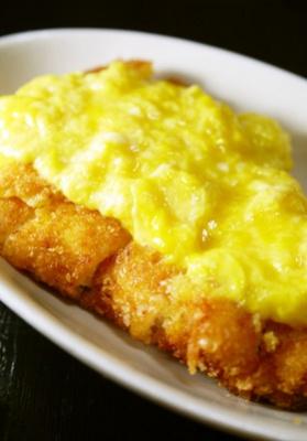 柔らか鶏むね肉のチキンカツ~卵あんかけ~