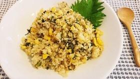 高菜と卵のピリ辛チャーハン♪
