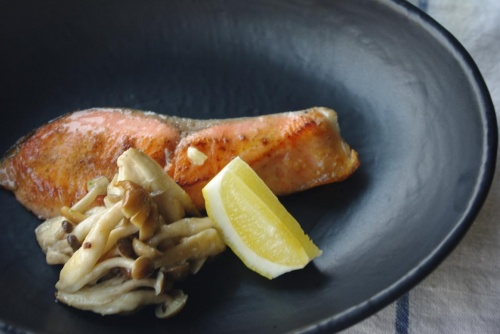 鮭とキノコのマヨソテー レシピ・作り方