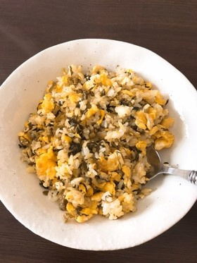 卵と高菜さえあれば!絶品高菜チャーハン