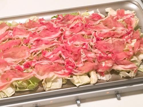 ホットプレートで★野菜がシャキシャキ‼蒸ししゃぶ レシピ・作り方