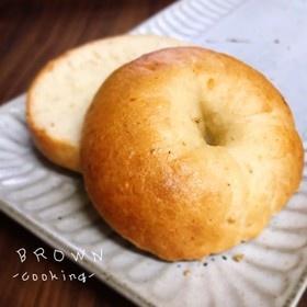 発酵&砂糖無し☆ 簡単☆豆腐ベーグル